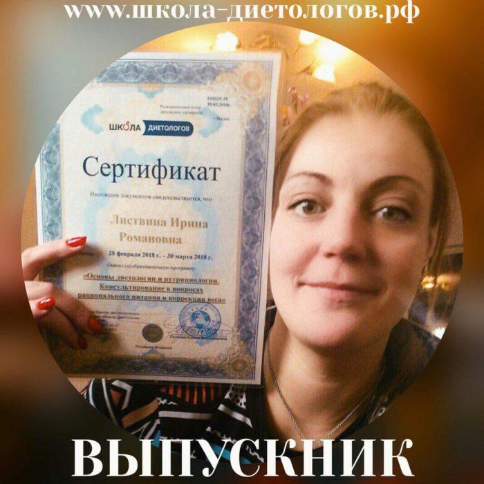 Листвина Ирина