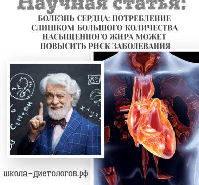 Болезни сердца и насыщенные жиры