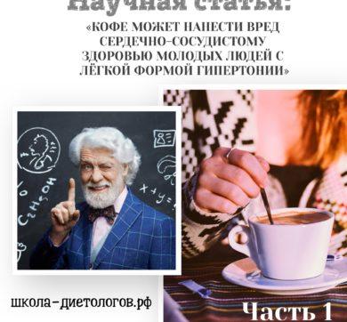 Вредно ли кофе молодым людям с гипертонией