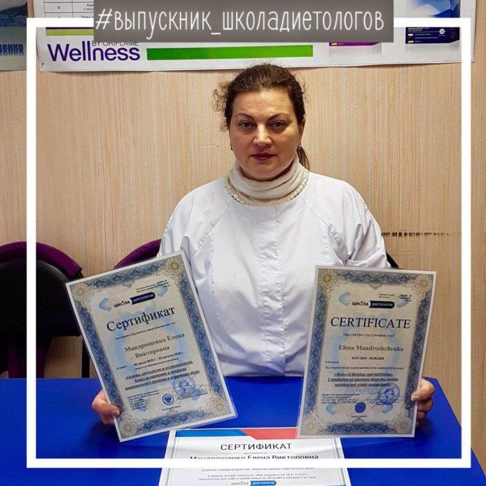 Мандрощенко Елена